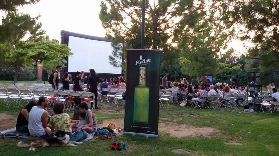 Open air cinema festivel Andreadakis