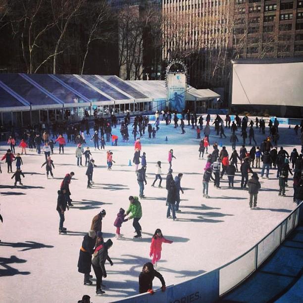movie and ice skating
